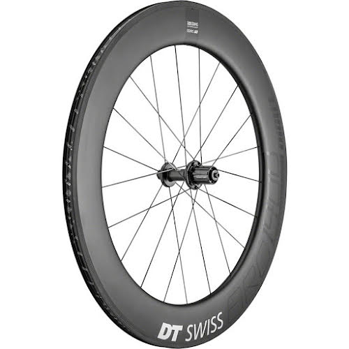 DT Swiss ARC 1400 DiCut 80 Rear Wheel -  700, QR X 130mm, HG 11, Black