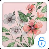 Vintage Flower CM Locker Theme