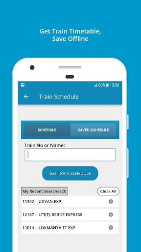 Indian Rail Train Info 3.0.61 screenshots 5