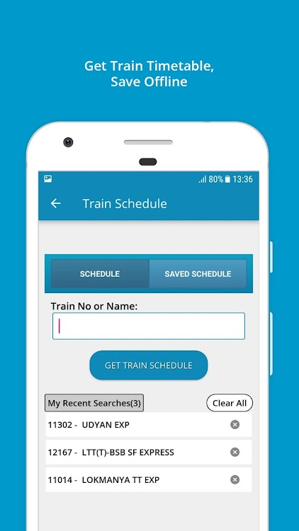 Indian Rail Train Info – (Android Apps) — AppAgg