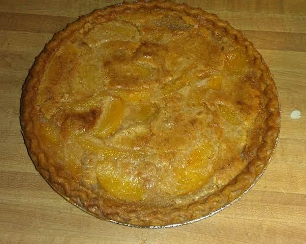 Peach Cobbler Pie