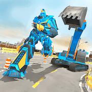 Excavator Robot Game -Transforming Robot Simulator