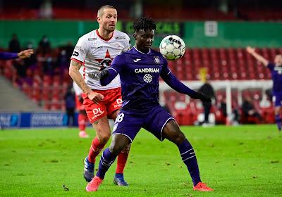 Officiel: Anderlecht prolonge l'un de ses attaquants
