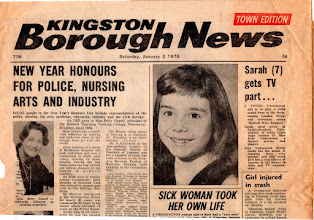 Photo: -KINGSTON BOROUGH NEWS January 3, 1976 (1/4) キングストン・ボロー・ニューズ