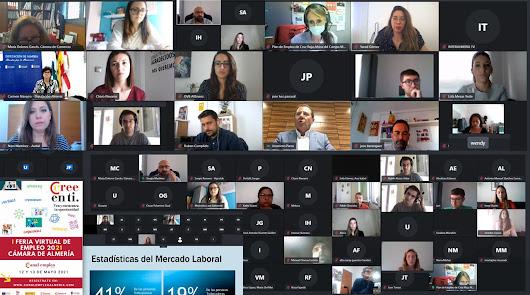 La Feria Virtual abre la puerta al empleo entre los jóvenes almerienses