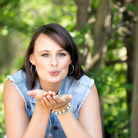 Kisses by Belinda Liebenberg - People Portraits of Women ( #outdoor, #dreambuddiesphotograhy, #beautiful, #naturallight, #summer )