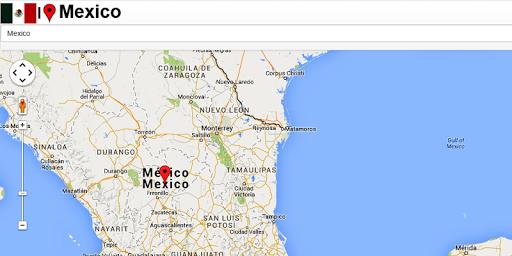 Mexico Mazatlan Map