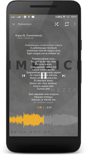 Music Player Mezzo Screenshot