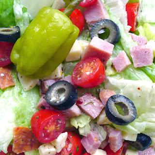 Classic Antipasto Salad.