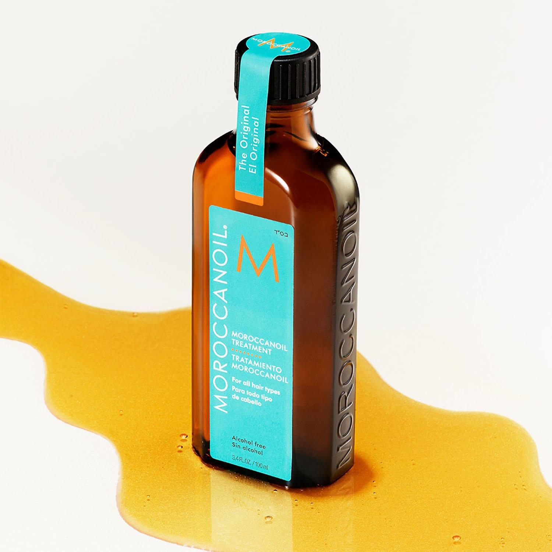 """Vẻ ngoài hơi """"dừ"""" của mỹ phẩm chất lượng Moroccanoil Treatment Giá: 396.000đ/25ml, 986.000đ/100ml"""