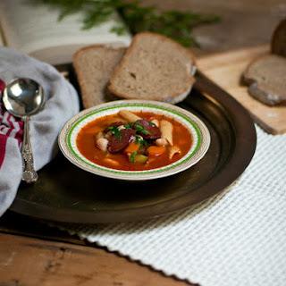 Chorizo & Broad Bean Minestrone