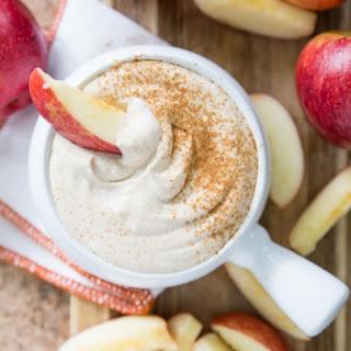 Healthy Caramel Apple Fruit Dip.