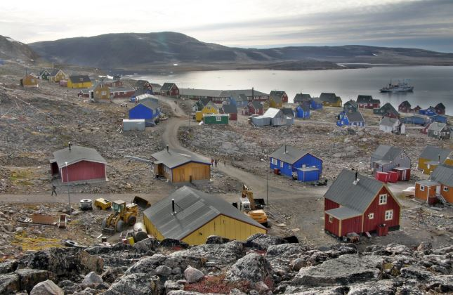 The epicenter was in a remote area 407 km east of Ittoqqortoormiit in Greenland.