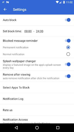 Notification Cleaner & Blocker & Screen Lock screenshots 3