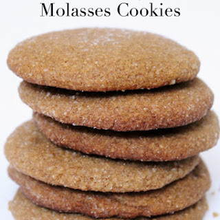 Gluten Free Gingerbread Molasses Cookies Recipe