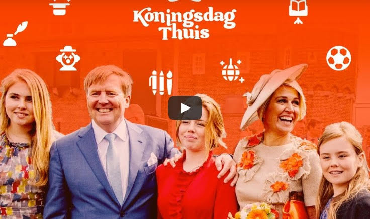 The King's day: When the sober Dutch go all-out
