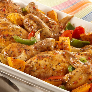 Herb Roasted Chicken and Vegetables.
