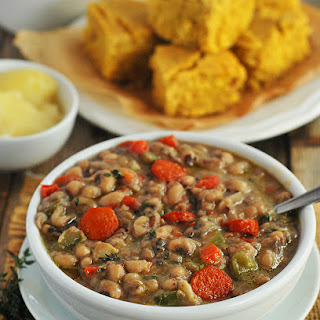 Southern Black-Eyed Peas (Vegan)