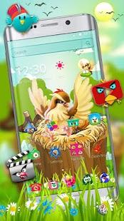 Angry Cute Bird Theme - náhled