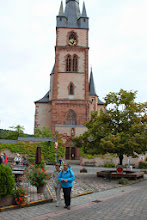 Photo: Kiedrich kirke udefra