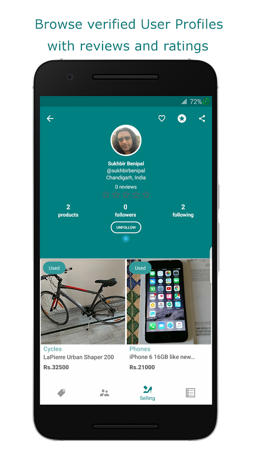 Want: Chat Nearby, Shop Social- screenshot