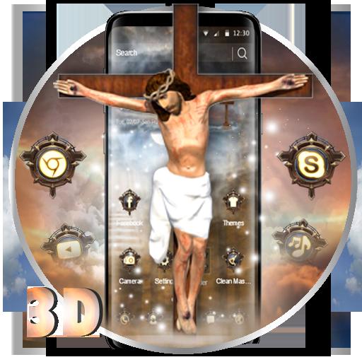 Lord Jesus 3D Launcher Theme