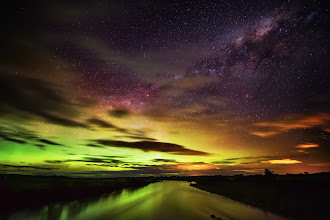 Photo: Aurora Australis in New Zealand  (The Southern Lights)  BTW, if you want to see BIG versions of all these NZ shots, come to http://www.stuckincustoms.com/category/travel/new-zealand/ -- I upload the full-on 7000+ pixel versions every day...