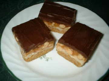 Peanut Butter Cookie Candy Bars Recipe