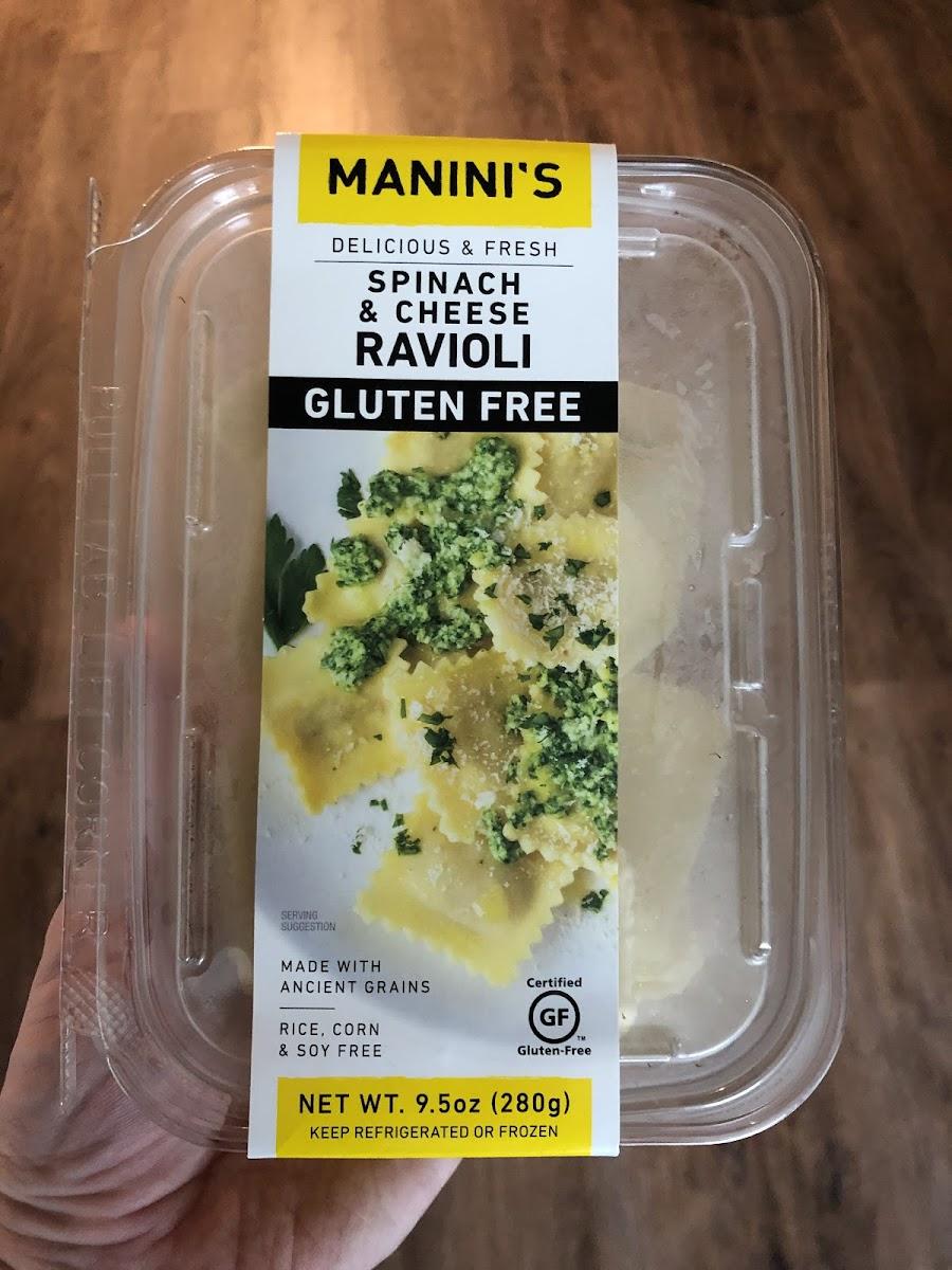 Spinach & Cheese Ravioli