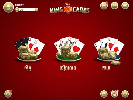 king of cards khmer  tải game bài apk