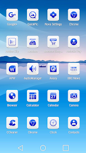 Azer Blue Icon Pack screenshot 1