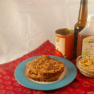 Crusted Pumpkin French Toast (Gluten Free)