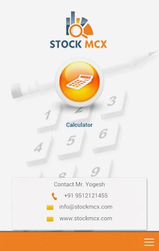 Stock MCX