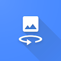Easily flip (mirror) selfies and images icon