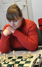Photo: Marina Kazak (Board #2 of Chigorin Chess Club)
