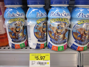 Photo: Pediasure Sidekicks have 3Grams of Protein and 25 minerals and vitamins along with 7 Grams of protein.
