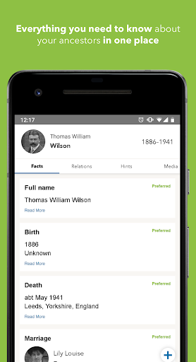 Download Findmypast 1.5.43 2