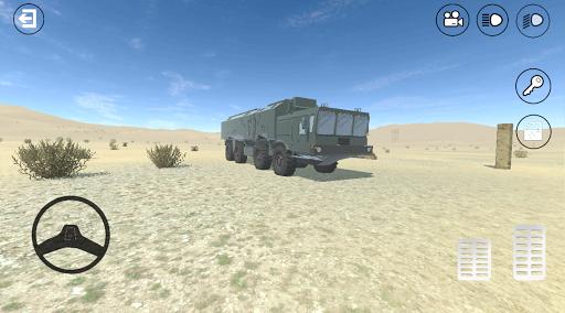 RussianMilitaryTruck: Simulator apktram screenshots 3