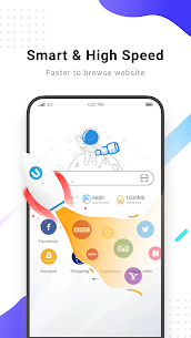 Web Browser-Free VPN,Video Download,Privacy Search 2.4.5 Mod APK Updated 2