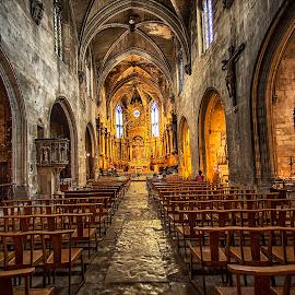 Notre Dame des Ange,Ise de la Sorque by Stanley P. - Buildings & Architecture Places of Worship (  )