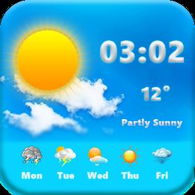 Ежедневный прогноз погоды Live