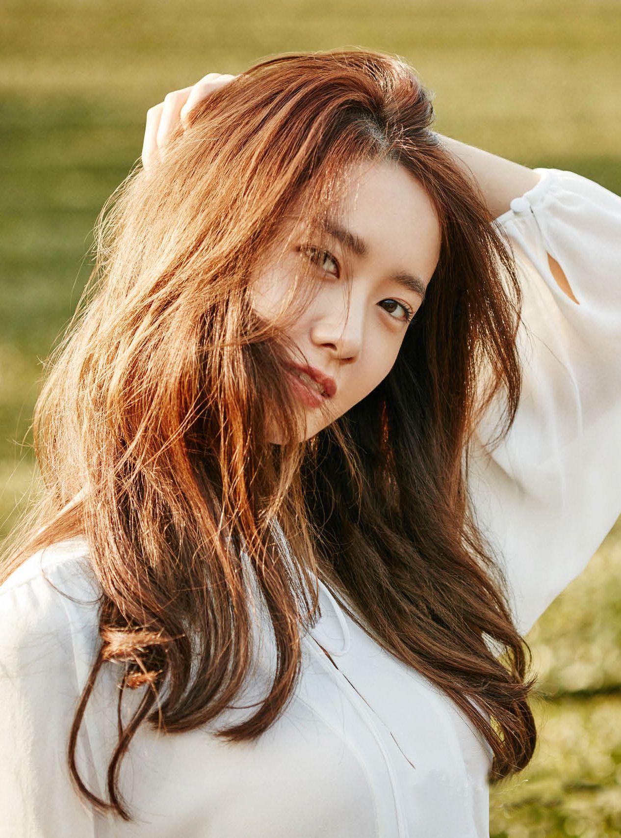 Hair yoona brown Im Yoona