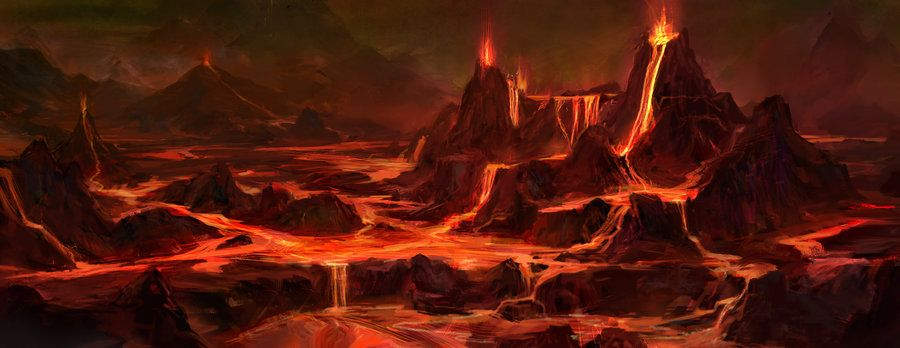 Mustafar by mutiny-in-the-air (With images) | Fantasy landscape ...