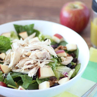 Apple Chicken Salad with Apple Cider Vinaigrette.