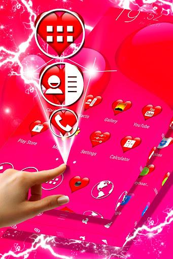 Love Theme Launcher screenshot 1