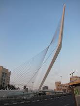 Photo: The Jerusalem Chord bridge (by Santiago Calatrava)