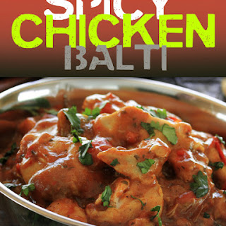 Spicy Chicken Balti.