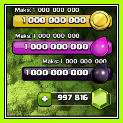 Hack Free Gems for coc App 100% New (Prank)