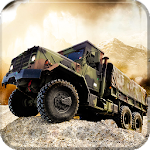 OffRoad Army Truck Transport Icon
