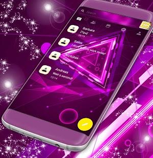 SMS Neon Témata zdarma - náhled